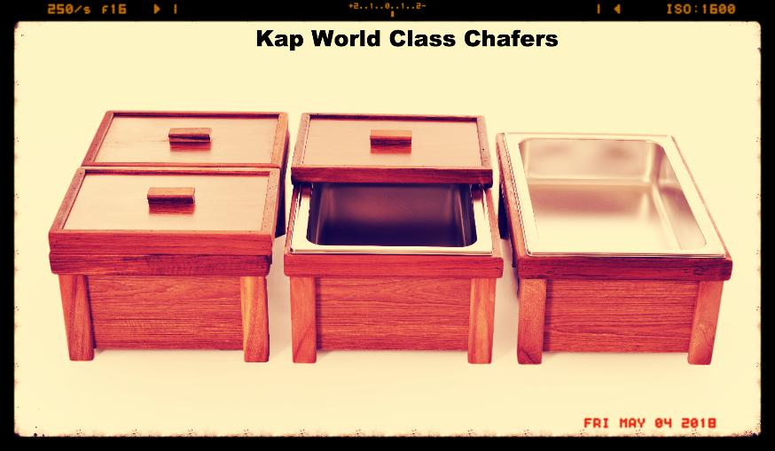 3 sample teak chafer